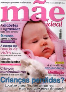 Capa da Revista mae ideal