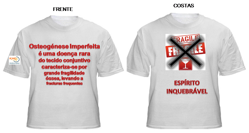 T-Shirt's Espiríto INquebrável